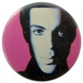 Prince - 'Pink' Button Badge